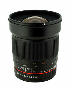 New Rokinon 24mm F1.4 Aspherical Wide Angle Lens for Nikon Digital SLR