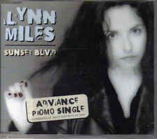 Promo CD singel Lyn miles- Sunset BLVD cdm