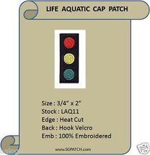VEL-KRO LIFE AQUATIC TEAM ZISSOU CAP PATCH - LAQ11