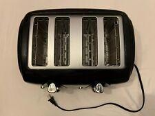 Sunbeam 4 Slice Toaster  Extra Wide Slot - Black - Pre-Owned