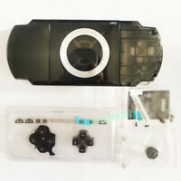 Transparent Black For PSP1000 2000 3000 Consoles Repair Housing Shell Cover Case