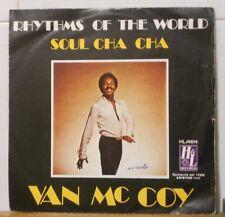 VAN MC COY - RHYTHMS OF THE WORLD - SOUL CHA CHA CHA - vinile 45 giri NUOVO