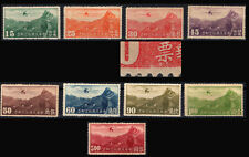China 1932-37 AIRPLANE JUNKERS SC#C11-C18,C20 / MLH &MNH VF