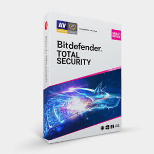 Bitdefender Total Security 2021 - 5 Devices 1 Year (Worldwide)