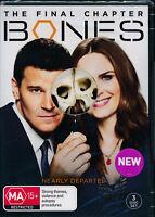 Bones The Final Chapter DVD NEW Region 4