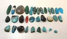 Malachite & More Loose Stones * Mixed Lot 32 Turquoise Onyx Coral