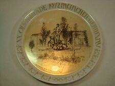 XX Olympiade 1972 Munchen Germany Olympic Hutschenreuther Plate