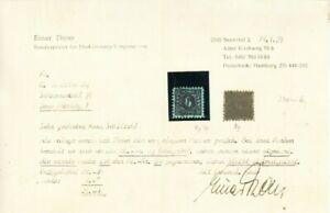 SBZ: Mi. Nr. 8 y, gestempelt - ca. 240 € Katalog, Fotoattest