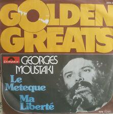 "7"" GEORGES MOUSTAKI : Le Meteque / Ma Liberte  /MINT-"