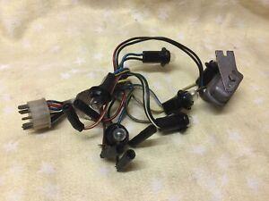 FORD ESCORT MK1 WIRING LOOM 2 CLOCK DASH COMPLETE WORKING