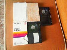 BETAMAX VIDEO TAPES VARIOUS BRANDS AND SIZES X 5