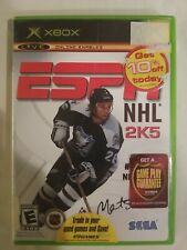 ESPN NHL 2K5 (Microsoft Xbox, 2004) Complete HOCKEY VG FREE S/H