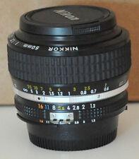 Nikon Nikkor 50mm F1.2 AI-S Lens Exc++++++++++