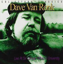 Dave Van Ronk - Live at Sir George William [CD]