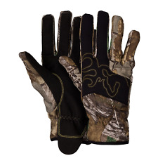 Mens BROWNING Mercury Gloves Camo Realtree Extra Size Large