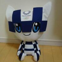 SEGA Tokyo 2020 Olympic mascot Miraitowa giga jumbo stuffed  plush Hands  down
