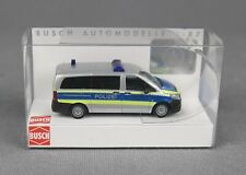 BUSCH 51189 (H0, 1:87) Mercedes Vito, Autobahnpolizei Berlin - NEUWARE!