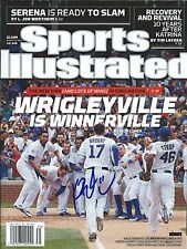 Kris Bryant signed Rookie Sports Illustrated Chicago Cubs Roy, Mvp w/Coa Proof