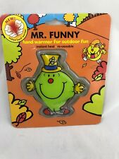 Hand Warmer Mr. Funny Instant Reusable Rare Mr. Men And Little Miss Collection