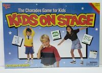 KIDS ON STAGE University Games charades educational family NEW Old Stock