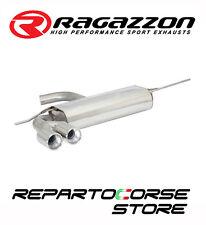 RAGAZZON SCARICO SDOPP. TERM.LI TONDI SFALSATI 2x80MM VW GOLF VI 6 2.0GTD 125kW
