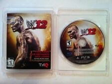 WWE '12 - Sony PS3 PlayStation 3 - Very Good - COMPLETE