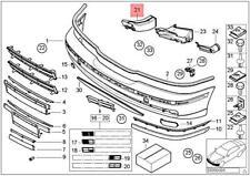 Genuine BMW E39 520d 520i 523i 2.4 Air Brake Channel Front Left 51118174843
