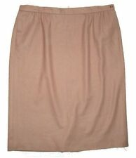Pendelton Camel Tan 100% Virgin Wool Vintage Skirt-Womens Plus Sz 18W
