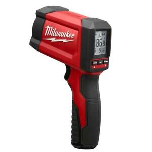 Milwaukee Infrared Thermometer Gun Laser Temperature Scanning LCD Display Handle
