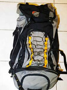 Lowe Alpine TFX Cerro Torre Hiking &Camping Waterproof Backpack Rucksack 75L+20L
