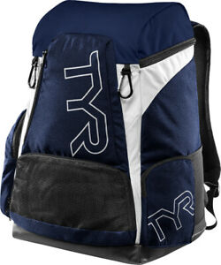 TYR Alliance Team® Backpack - 45L - White/Navy
