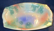 Studio Pottery Ceramics Bowl w/ Cactus Design Signed Bill Furry