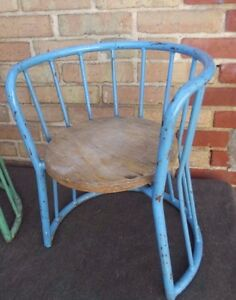 Roger Fatus French Children school Chair 1950'
