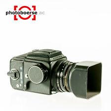 HASSELBLAD 500 C/M mit CF 80mm F/2,8 und A12, schwarz
