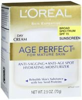 L'Oreal Dermo-Expertise Age Perfect Mature Skin Day Cream SPF15 2.50 oz (3-PACK)