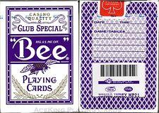 1 Purple Deck Bee Bally Mindplay Casino Playing Cards