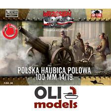 1/72 WWII Polish Field Howitzer Skoda 100mm 14/19 - First to Fight 49