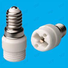Pequeño Rosca Edison ses E14 G9 bombilla Adaptador socket para lámpara de Convertidor Titular