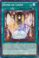 Hymn of Light Common 1st Edition Yugioh Card MP15-EN107