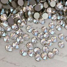Swarovski Crystal Moonlight clear effect 100 x SS20 diamanté rhinestones Glue On
