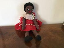 Vintage African American Mammy Black Doll Folk Art Americana