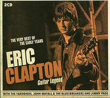 THE VERY BEST OF THE EARLY YEARS ERIC CLAPTON GUITAR LEGEND - 2 CD BOX SET