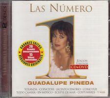 Guadalupe Pineda Las Numero 1 CD+DVD New Nuevo sealed