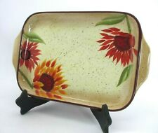 "Pfaltzgraff ""Evening Sun"" Serving Tray"