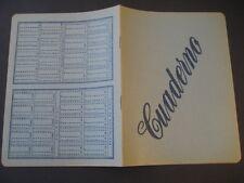 Antiguo Cuaderno Escolar de los años 60. TABLAS SUMAR RESTAR DIVIDIR MULTIPLICAR