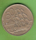 1967 NEW ZEALAND 50 CENT COIN