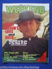 Weekend Magazine - Robert Mitchum, Angie Dickinson   7th Sep 1983