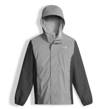 The North Face girl's Resolve Reflective FZ Rain Jacket Large