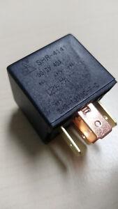 1 x  KFZ  Relais 12V /  40A /  1xUM / 6,3mm / 5Pin Universal /Standort DE