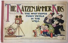 Katzenjammer Kids 1921 Embee Vintage Book Comic Most Famous Funny People in Worl